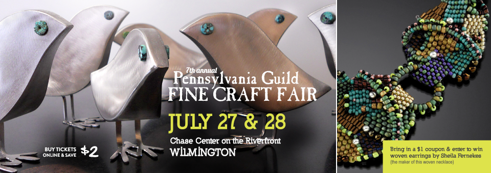 PA guild fine craft fair in Wilmington DE