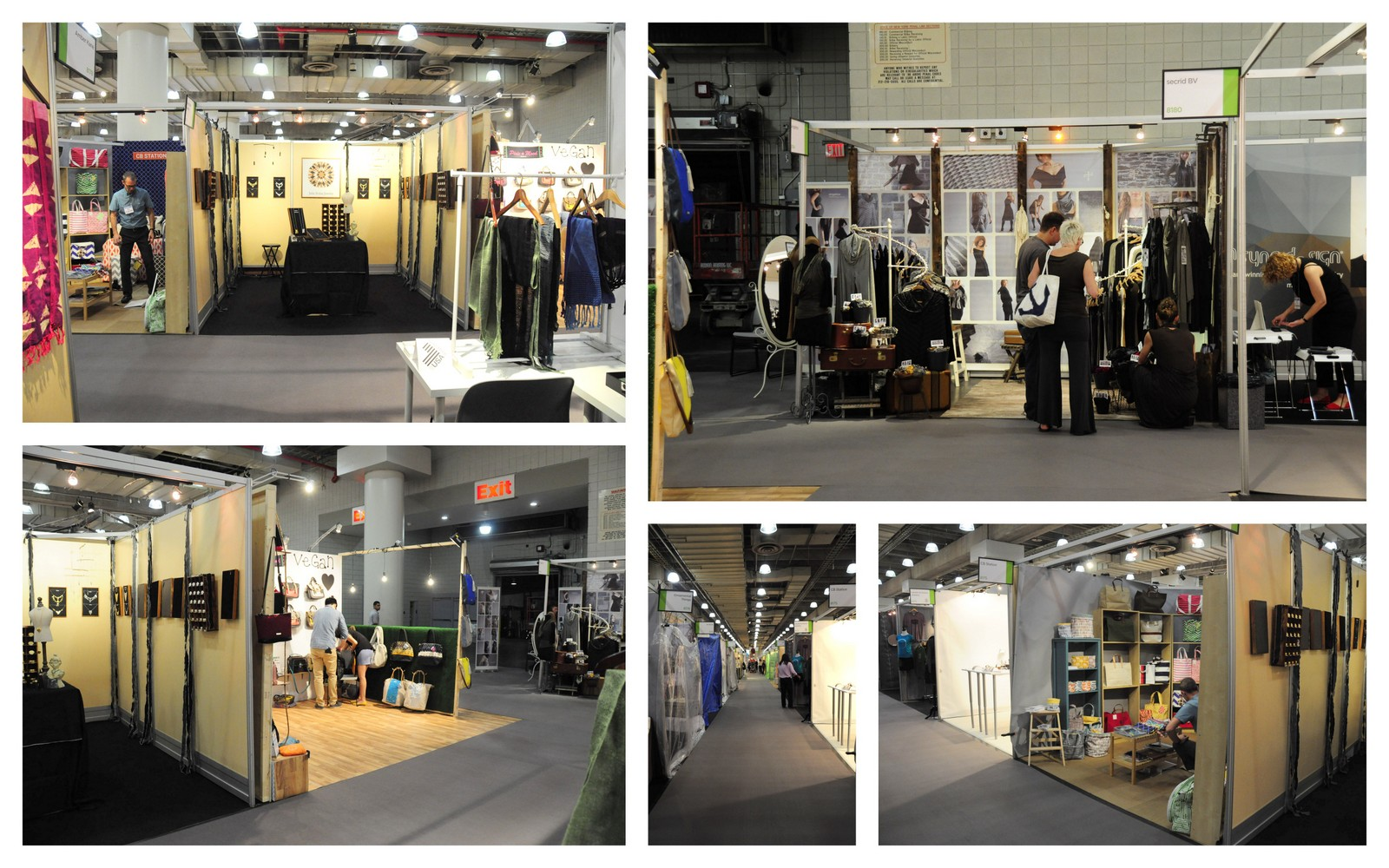 booth photos from New York Now