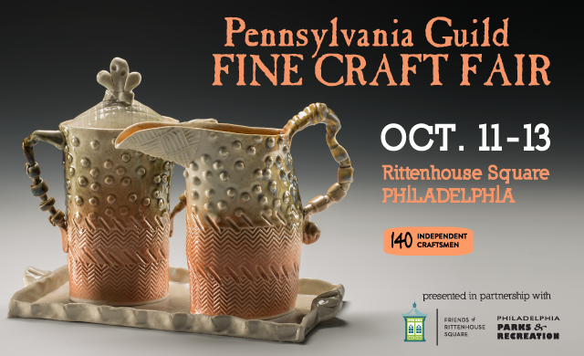 pa craftsman rittenhouse square craft show