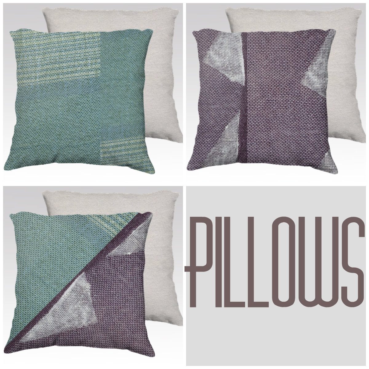 pillows by amber kane